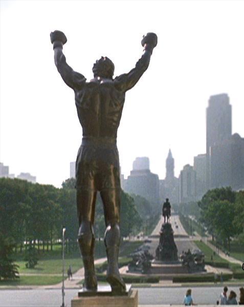 La scalinata di Rocky