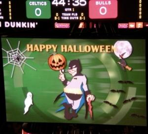 Halloween al TD Banknorth Garden