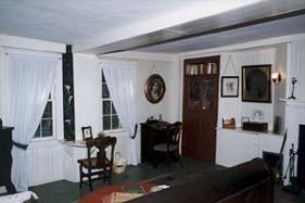 La camera di Louisa May Alcott, a Orchard House