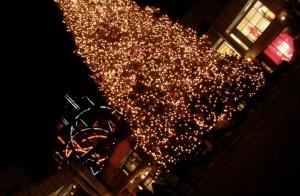 L'albero di Natale al Quincy Market