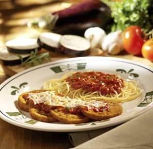 Eggplan parmigiana