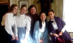 "Piccole donne e ""Louisa"" a Orchard House"