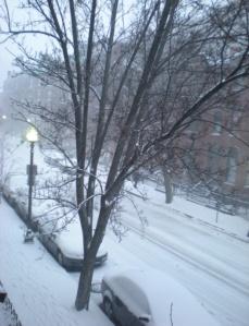 Neve sotto casa mia e di my Mr Big
