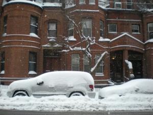 Sotto un metro di neve
