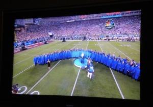 Apertura del 43esimo Super Bowl