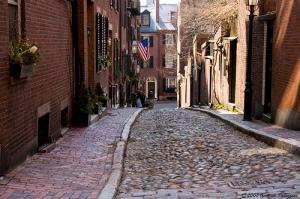 Per le strade di Beacon Hill, foto di Andi Pal su Flickr.com