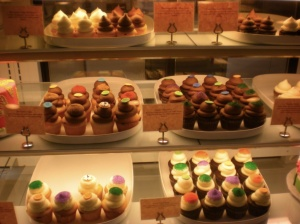Il bancone di Sweet Cupcakes