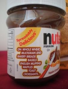 Istruzioni per l'uso della Nutella