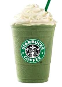 Un frappuccino dietetico...al tè verde