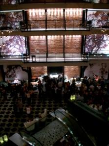 L'interno del Liberty Hotel