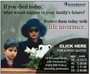 L'assicurazione di ricorda: sei assicurato, in caso morissi oggi?