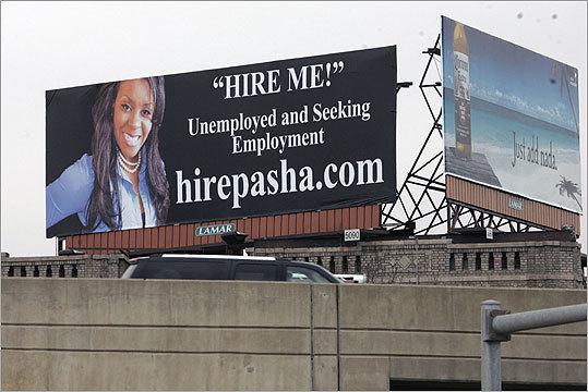 Quando c'e' la crisi, il CV diventa cartellone pubblicitario