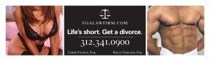 Questa è vecchia, ma famosa: la vita è breve, divorzia!