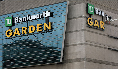 Cambia nome il TD Banknorth Garden