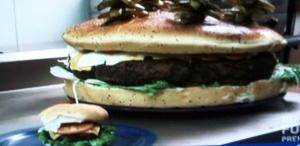 Il Big Bad Burger di Denny's