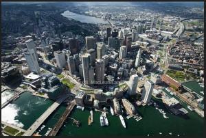 Boston vista dal fotografo Alex Mac Lean